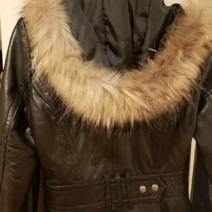 Miss TopGun Jackets & Coats - 100% authentic womens thigh length leather jacket